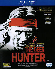The Deer Hunter - Robert De Niro Meryl Streep [ 2 Disc Set 1 Blu Ray 1 DVD ] NEW