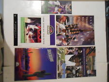 VINTAGE COLORADO ROCKIES SPRING TRAINING PROGRAMSINAGURAL 1993,1998,2003,2004