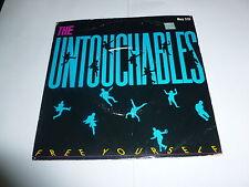 "THE UNTOUCHABLES - Free Yourself - 1984 UK 2-track 7"" vinyl single"