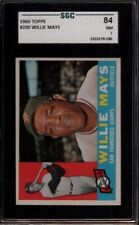 1960 TOPPS #200 WILLIE MAYS SGC 84 NM 7 HOF SAN FRANCISCO GIANTS SUPER NICE