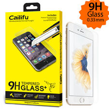 Cailifu [Tempered Glass] Premium Screen Protector for Apple iPhone 6 6s Plus