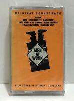 Men At Work Soundtrack Cassette NEW Sealed 1990 UB40 Ziggy Marley Blood Brothers