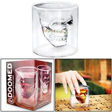 Crystal Skull Shot Glass Liqour tirador Drink Bar Novedades Regalo