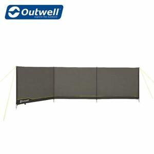 Outwell Windscreen Windbreak Grey Tent Awning Wind Blocker Camping 2021 MODEL