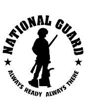 "National Guard 8.5"" x 11"" Custom Stencil FAST FREE SHIPPING"