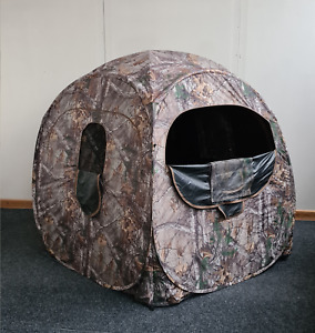 Menimal Pop up Camouflage Shooting Blind for Hunters & Wildlife Photography