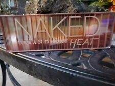 Urban Decay Naked Heat Eye Shadow Palette with dual sided contour brush New Demo