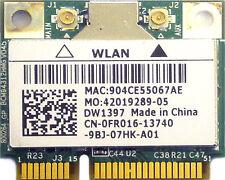 "Dell Inspiron 1564 15.6"" Genuine WiFi WLAN Wireless Card BCM94312HMG FR016 Good"