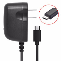 TracFone LG Phones Premium USB Travel Home Wall AC Charger BLACK