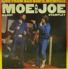 Moe & Joe(Vinyl LP)Live At Bad Bob's,Memphis-CBS Orange/Yellow-CBS 2636-VG+/Ex