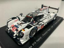 Voitures des 24 Heures du Mans miniatures blancs Spark