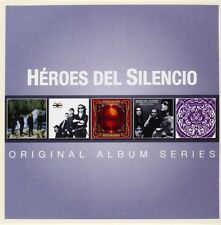 HEROES DEL SILENCIO - ORIGINAL ALBUM SERIES 5 CD NEW+