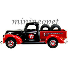 BEYOND THE INFINITY 0612 1940 FORD PICK UP TRUCK with TIRES TEXACO 1/32 RED