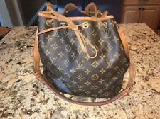 Louis Vuitton Vintage Monogram Noe Bucket Purse Handbag Shoulder Bag