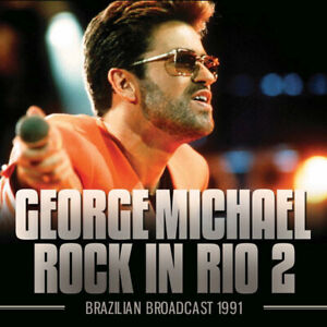 George Michael - Rock In Rio - CD - GOSS044 - NEW