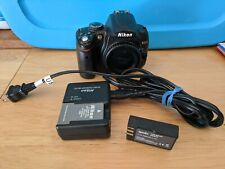 Nikon D D5000 12.3MP Digital SLR Camera - Black (Body Only) + Charger