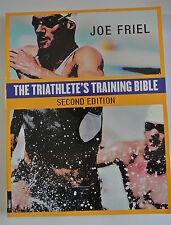 Book. Triathletes Training Bible by Joe Friel (Paperback, 2004)