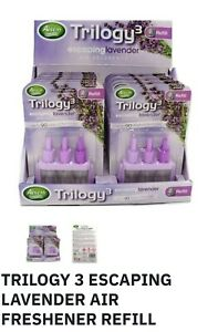 3 x 3VOLUTION PLUG IN AIR FRESHENER REFILLS TRILOGY3 AMBI PUR COMPATIBILITY 20ml