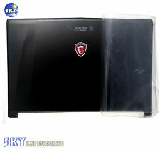 NEW 307791A212Y311 MSI GE72 2QD APACHE PRO MS-1792 SERIES LCD DISPLAY BACK COVER
