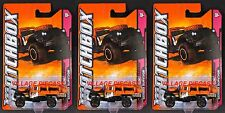 2012 Matchbox #96 Sahara Survivor™ BLACK/ALL ABOARD/3-PACK/MOC