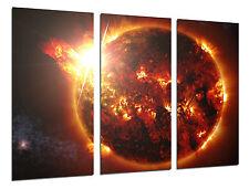 Carreau Moderne Photographie Etoile Soleil, Espace,97x62cm Réf. 26415
