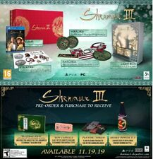 Shenmue III 3 - Collector's Edition UK + Pre Order DLC Similar to Limited Run Ed