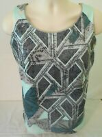Coldwater Creek Womens Tank Top with Sequins Medium 10-12