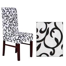 2/4/6 pcs Entfernbarer Stretch Von kissenhüllen Kurz Esszimmer Stuhl Sitz Deckel