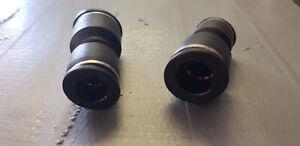 Raccordo dritto rapido F/F 10/12 giunto per accoppiamento tubi da 10mm a 12mm