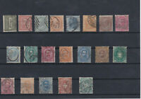 Italy 1863-91 Used Stamps Ref: R7391