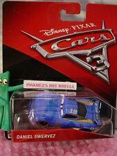 New 2017 PIXAR Disney Cars 3 DANIEL SWERVEZ✿Blue car✿Octane Gain 19