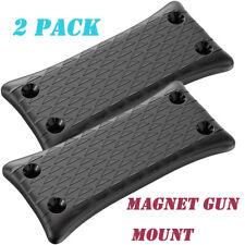 2pcs magnetic gun mount, Flexible placement for your firearm, gun accessories