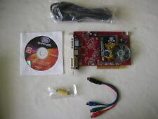 Sapphire Ati Radeon X1300 256mb AGP + cavi + cd driver