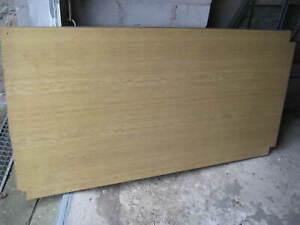 Holzplatte, Pressspanplatte, kunststoffbeschichtet, Tischplatte, 30 mm stark