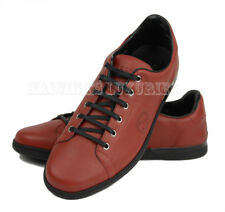 GUCCI MENS SNEAKERS INTERLOCKING G LOGO ROSSO LEATHER SHOES sz 11G / 12 / 45.5