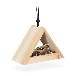 Vogelhaus zum Aufhängen Vogelfutterhaus Holz Futterhaus Futterstation Wildvögel