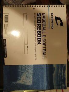 Champion Baseball And Softball Scorebook New