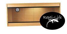 Repti-Life Vivarium 36x15x15 in Beech, 3ft vivarium