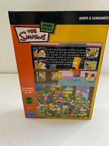 Blue Opal THE SIMPSONS 300 Piece Jigsaw Puzzle COMICS Cartoon KIDS 50x 35 cm