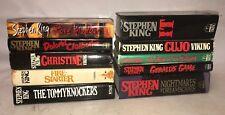 Stephen King Lot of Books - 10 in 1 - Cujo - it - fire starter -