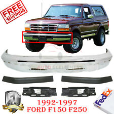 New FO1002167 Front Bumper for Ford Bronco 1980-1986