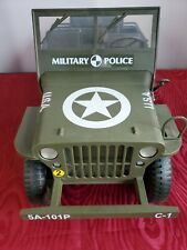 1/6 scale Willys Jeep Wold War 2 Military Action Vehicles  Gi Joe Sotw/ Extra