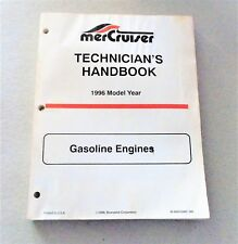 MerCruiser Technician's Handbook 1996 Gasoline Engines 90-806535960