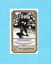 "JOHNNY (BLOOD) McNALLY  1975 Fleer  ""THE IMMORTAL ROLL"" FTB Card"