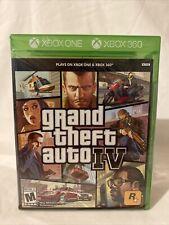 Grand Theft Auto Iv (Microsoft Xbox, Xbox One) Brand New Factory Sealed