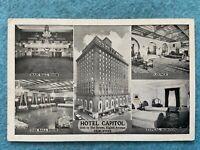 Hotel Capitol, New York Vintage Postcard
