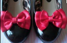 pair Red Velvet Queen of Hearts Shoe Clips