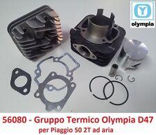 Gruppo Termico Cilindro + Pistone + Testa Olympia D47 per Piaggio NRG 50 Extreme