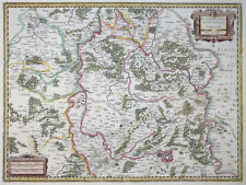 MERCATOR HONDIUS FRANKREICH LOTHRINGEN METZ LOTHARINGIA SEPTENTRIONALIS  1631