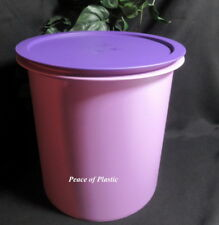 Tupperware Brand New RARE HUGE GIANT PURPLE CANISTER 14.5 L